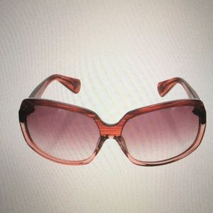 Chrome Hearts Gradient Square Sunglasses